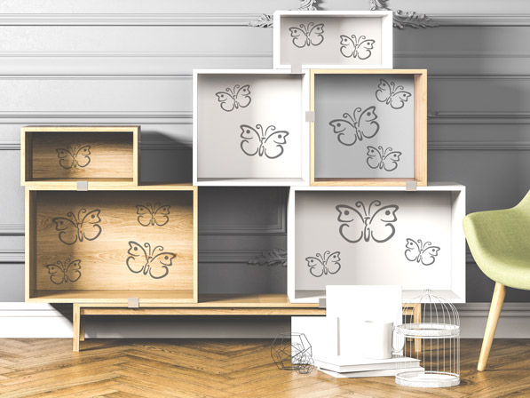 wandtattoos im kinderzimmer wunderbare ideen und tipps. Black Bedroom Furniture Sets. Home Design Ideas