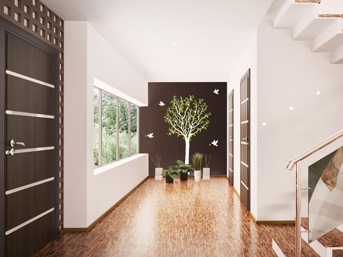 wandtattoo treppenhaus flur ihr traumhaus ideen. Black Bedroom Furniture Sets. Home Design Ideas