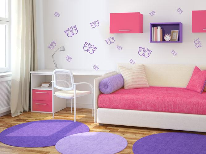 Kinderzimmer Wandgestaltung Anleitung : Wandtattoos für Kinder mit Wunschname  Wandtattoocom