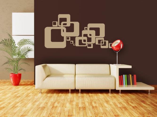 wandtattoos f rs wohnzimmer. Black Bedroom Furniture Sets. Home Design Ideas