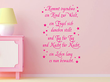 sch ner spruch geburt zitate spr che. Black Bedroom Furniture Sets. Home Design Ideas