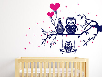 S e wandtattoos f rs babyzimmer for Wandtattoos babyzimmer