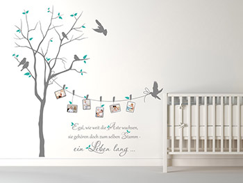 wandtattoo baum babyzimmer badezimmer ideen 2012. Black Bedroom Furniture Sets. Home Design Ideas