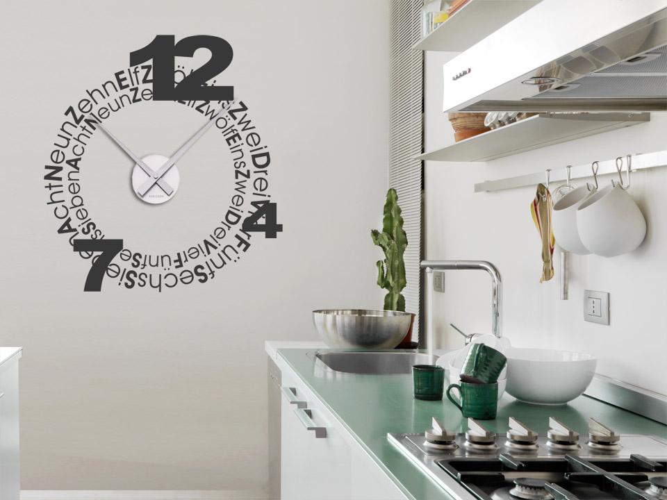 35 Minimalistischen Wanduhren Küche | Küchen Ideen