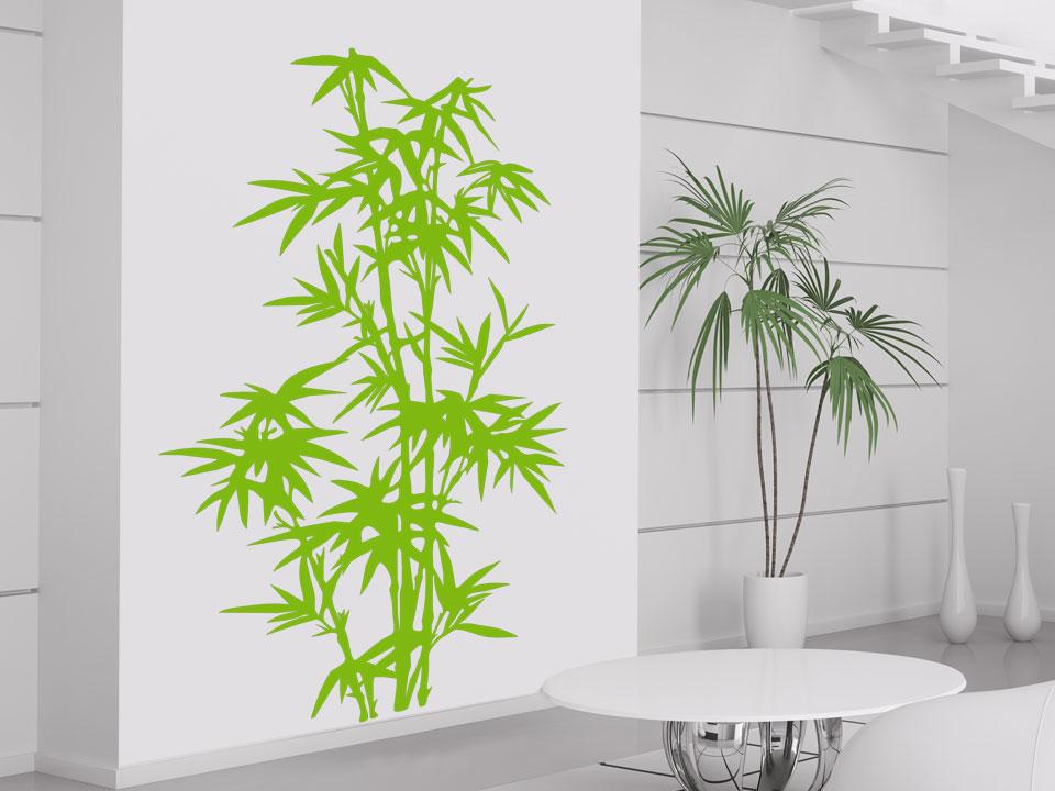 wandtattoo bambus pflanze wandtattoo natur asiatisch. Black Bedroom Furniture Sets. Home Design Ideas