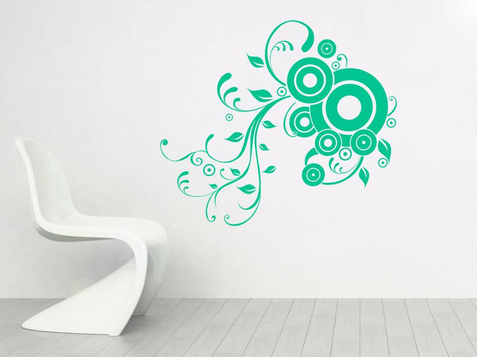 Wandgestaltung Kreise Und Linien : Wandtattoo Kreise Mit Ornamenten Dekor  Ornament