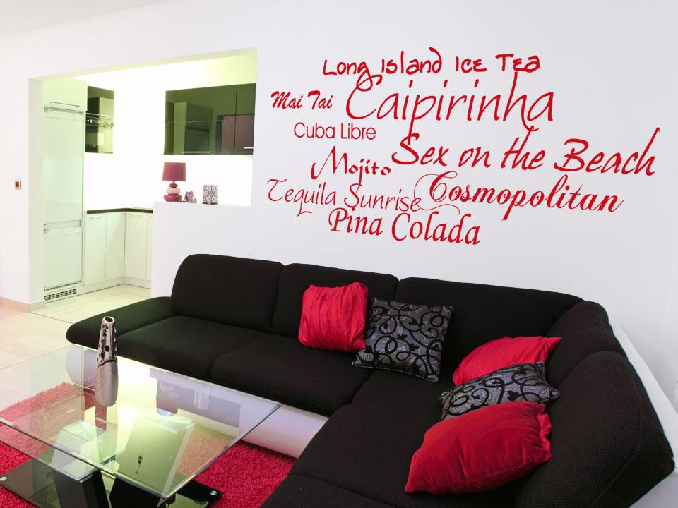 Wohnzimmer In Grau Und Rot