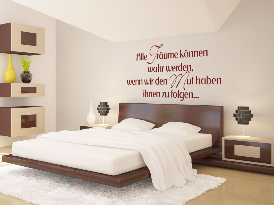 wanddeko schlafzimmer m belideen. Black Bedroom Furniture Sets. Home Design Ideas