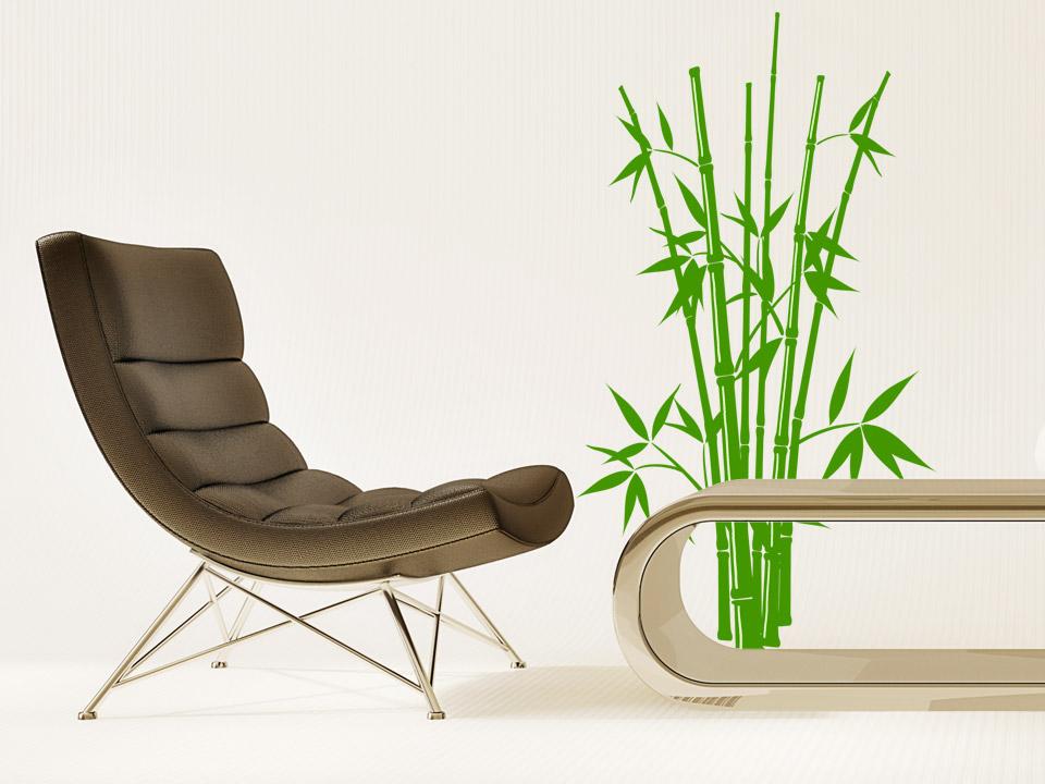 Wandtattoo bambus busch wandtattoos bambus wandtattoo - Bambus im wohnzimmer ...
