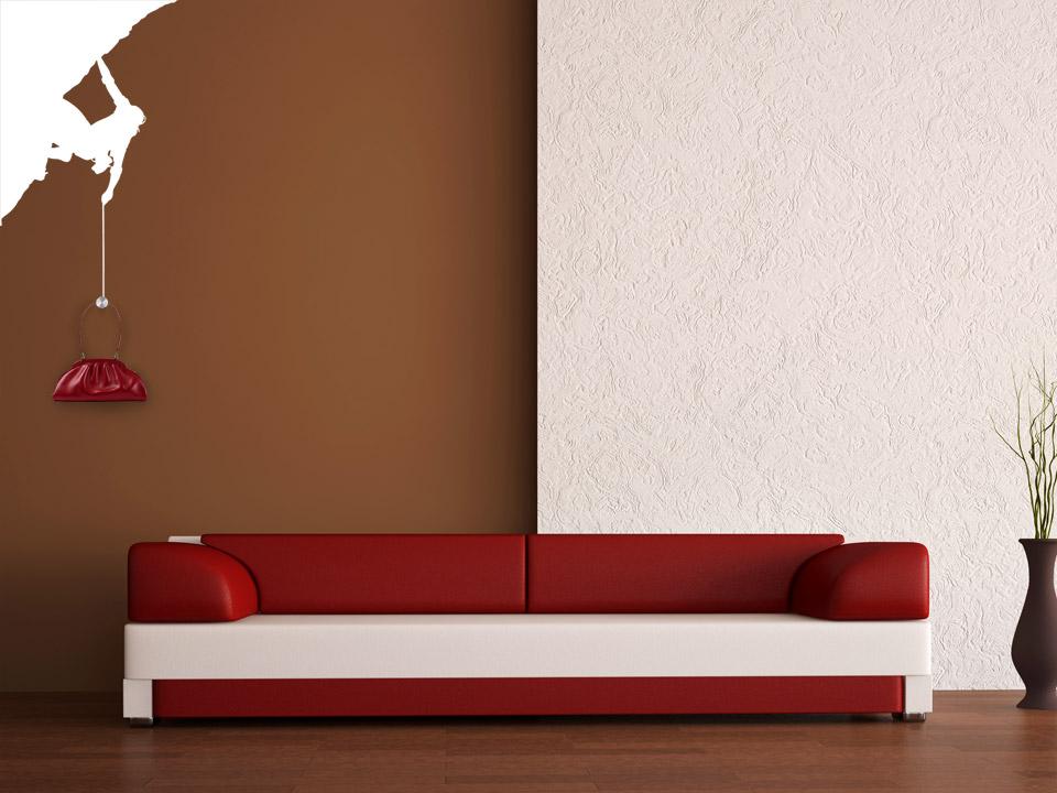 wandtattoo garderobe bergsteiger mit garderobenhaken. Black Bedroom Furniture Sets. Home Design Ideas