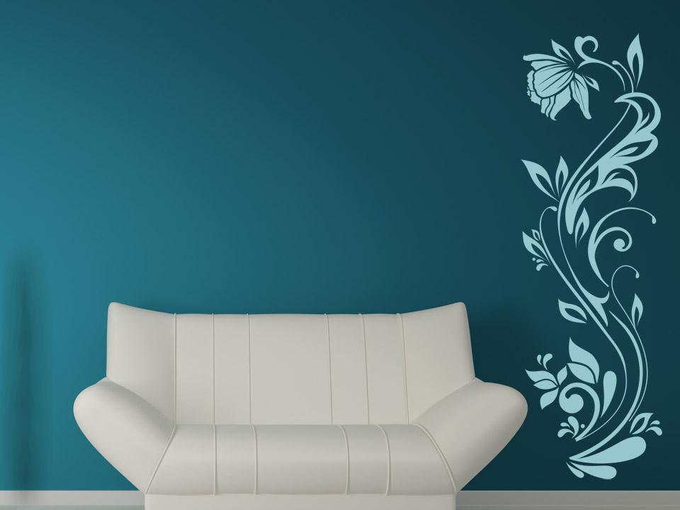 wandtattoo sch ne bl tenranke wandtattoo bl ten ranke. Black Bedroom Furniture Sets. Home Design Ideas