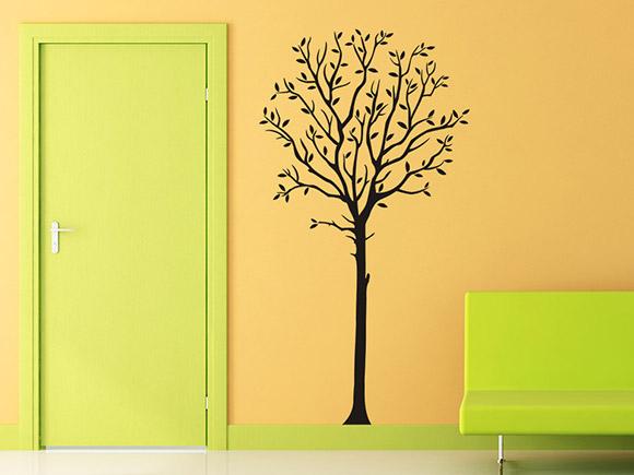 wandtattoo eleganter baum. Black Bedroom Furniture Sets. Home Design Ideas