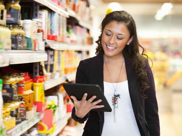 Einkaufsliste als App für iPad & Co