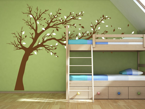 wandtattoos im kinderzimmer wunderbare ideen und tipps f r die dekoration. Black Bedroom Furniture Sets. Home Design Ideas