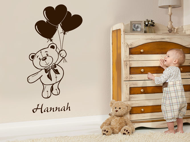 s e wandtattoos f rs babyzimmer. Black Bedroom Furniture Sets. Home Design Ideas