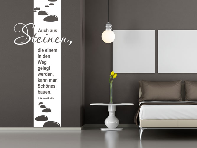 xxl wandtattoos als raumhohe banner wandbanner. Black Bedroom Furniture Sets. Home Design Ideas