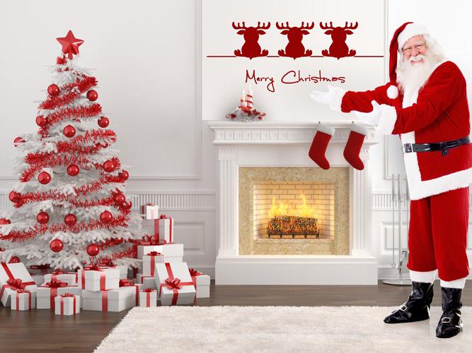 Wandtattoos zu weihnachten als weihnachtsdeko for Wandtattoo weihnachten