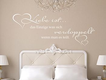 Wandtattoos Fürs Schlafzimmer | Wandtattoo.com Schlafzimmer Wei Romantisch