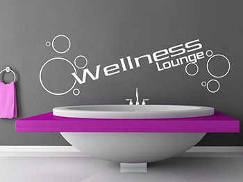 Wandwort Wellness Lounge
