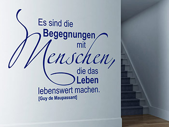 Wandtattoos für Flur, Treppenhaus und Eingang  Wandtattoo.com