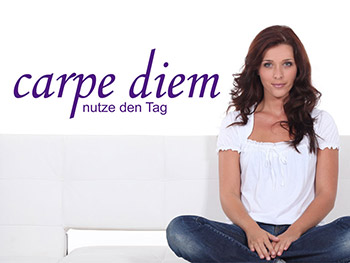 Carpe Diem Wandtattoo in Farbe
