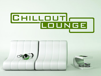 Wandwort Chillout Lounge