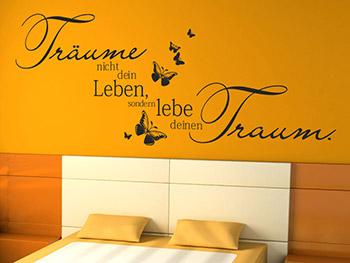 Schlafzimmer Deko Wand schlafzimmer dekorieren romantisch trendige romantische deko Schlafzimmer Schlafzimmer Deko Wand Wandtattoos Frs Schlafzimmer Wandtattoocom