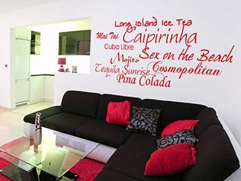 farbgestaltung fr ein wohnzimmer in den wandfarben rotgrnmelone, Modern Dekoo