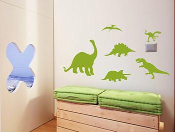 Wandtattoos f rs kinderzimmer - Wandtattoo dinosaurier ...