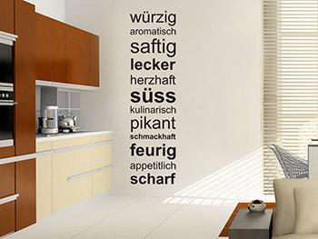 wandtattoos für die küche | wandtattoo.com - Wandtatoos Für Die Küche