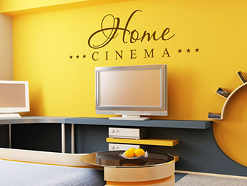 Home Cinema Wandtattoo