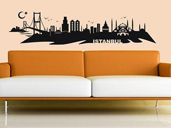 wandtattoo skylines bekannte st dtemotive. Black Bedroom Furniture Sets. Home Design Ideas