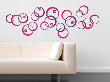 wandtattoo dekor als eleganter wandschmuck. Black Bedroom Furniture Sets. Home Design Ideas