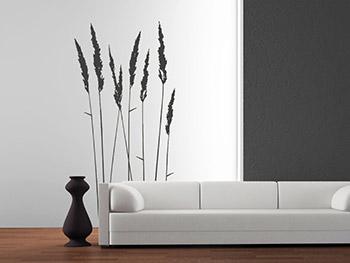 design wandgestaltung wohnzimmer grau rot inspirierende bilder innenarchitektur ideen