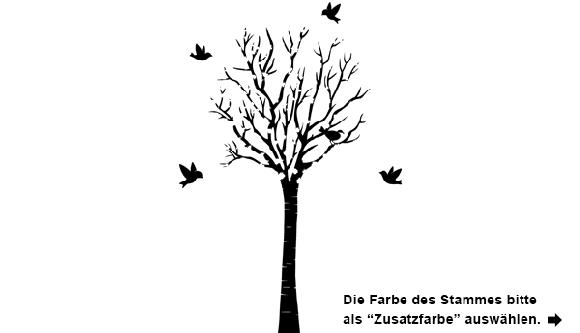 Stilvoller Wandtattoo Baum | Wandtattoo.com