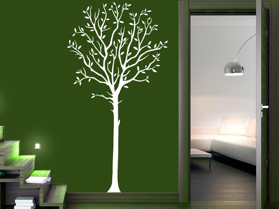 Wandtattoo Eleganter Baum | Wandtattoo.com