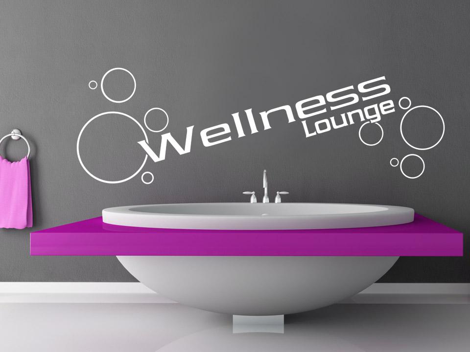 Wandtattoo wellness lounge mit seifenblasen - Wandtattoo wellness ...