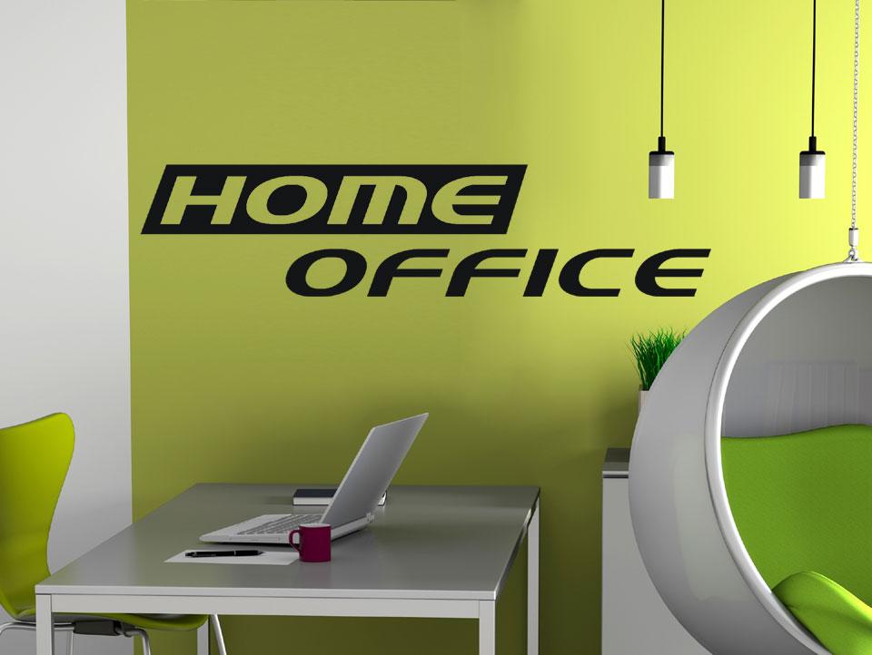 Wandtattoo Wandwort Home Office Furs Arbeitszimmer Wandtattoo Com