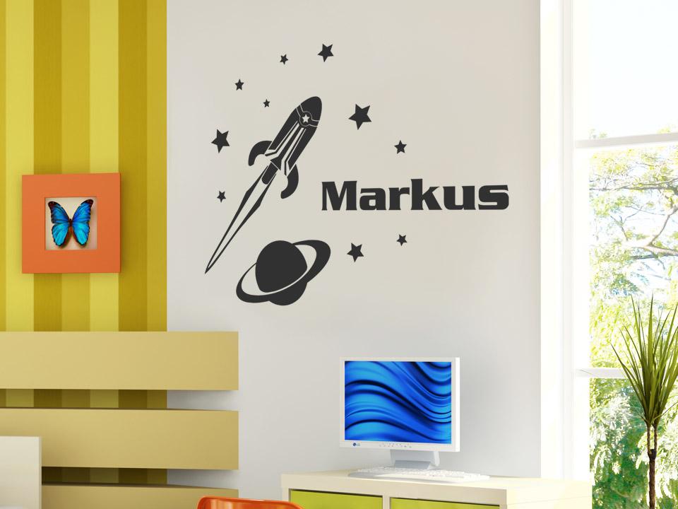 ... Kinderzimmer Rakete Wandsticker Walltattoo Wandtatto Deko on Pinterest
