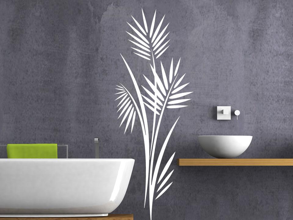 Wandtattoo Zeitloser Blätterstrauch Wandtattoocom - Wandtattoos fürs badezimmer
