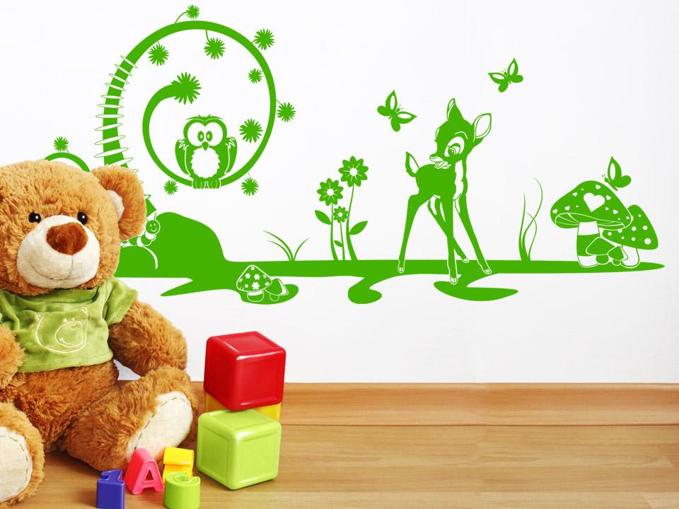 Wandtattoo Mit Märchen Motiven Im Kinderzimmer