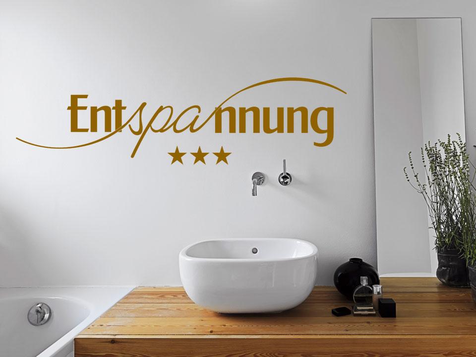 Wandtattoo Entspannung - Spa | Wandtattoo.com