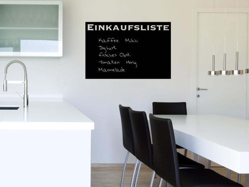tafelfolie einkaufen praktische einkaufsliste. Black Bedroom Furniture Sets. Home Design Ideas