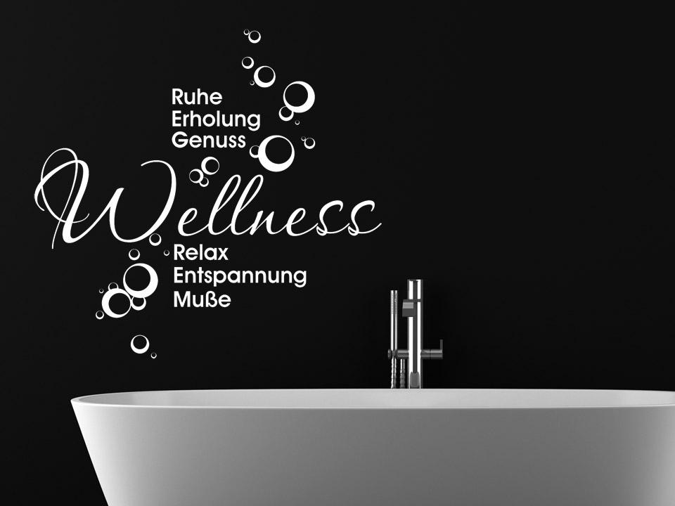Sprüche entspannung wellness  Wandtattoo Wellness fürs Badezimmer | Wandtattoo.com