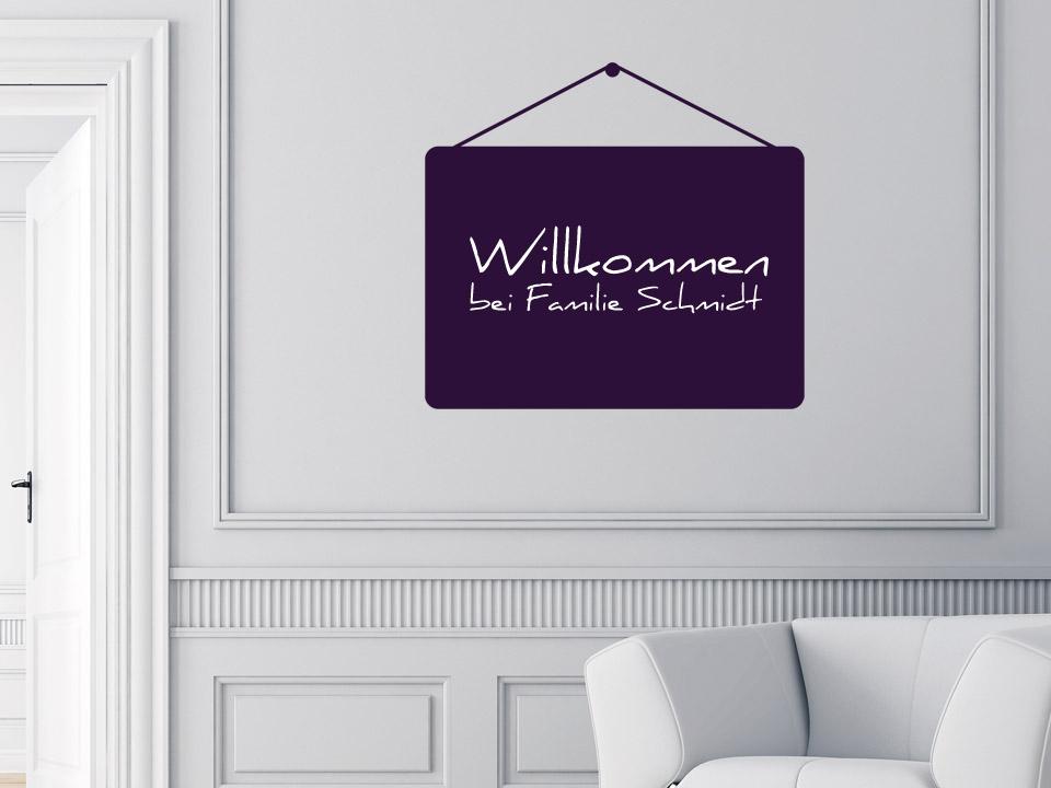 tafelfolie aufh nger zum beschriften mit kreide. Black Bedroom Furniture Sets. Home Design Ideas