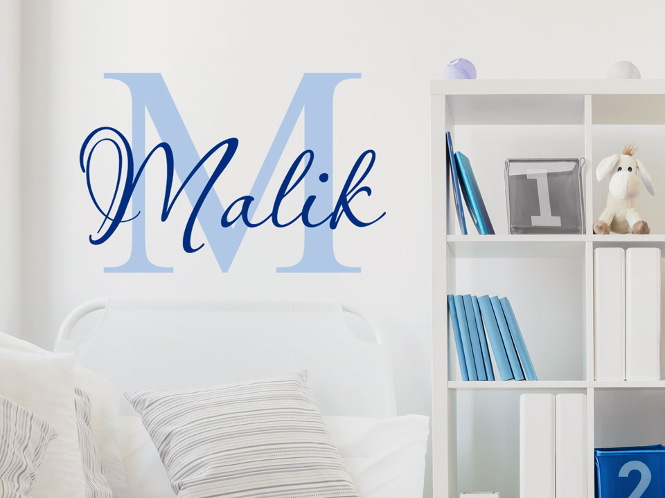 wandtattoo kinder name reuniecollegenoetsele. Black Bedroom Furniture Sets. Home Design Ideas