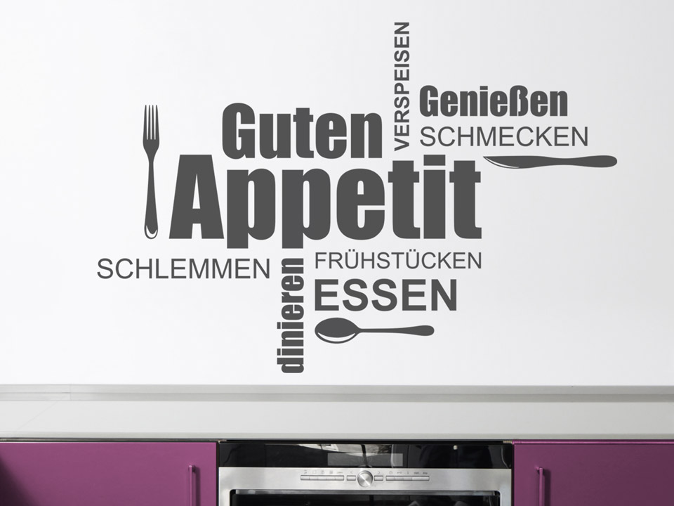 Stunning Wandtattoos Küche Günstig Images - Ridgewayng.com ...
