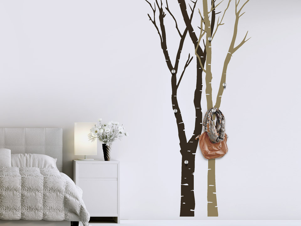baum garderobe perfect garderobe selber bauen baum raumteiler aus altem holz selber with baum. Black Bedroom Furniture Sets. Home Design Ideas