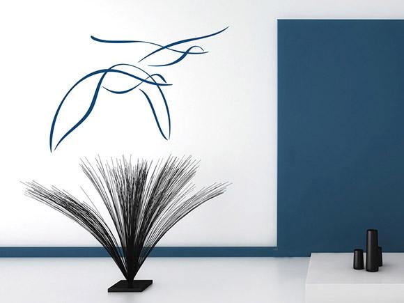 wandtattoo m wen. Black Bedroom Furniture Sets. Home Design Ideas